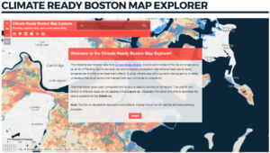Climate Ready Boston Map Explorer